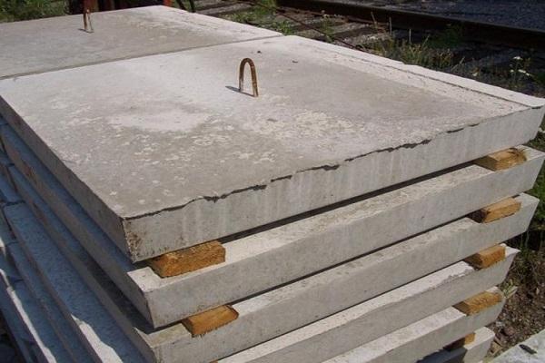 плиты из бетона