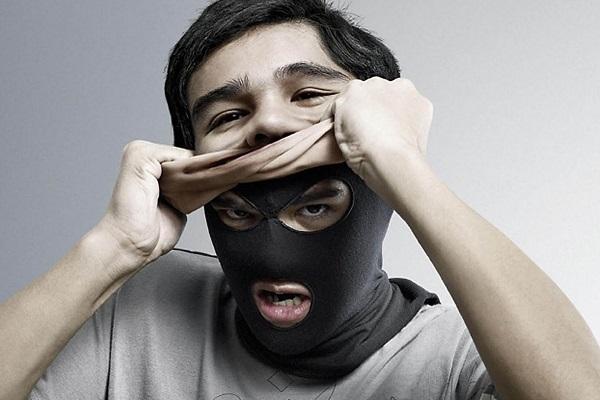 снятие маски