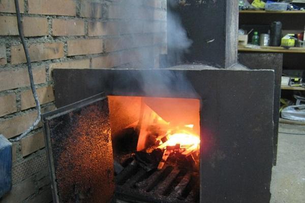 горят ветки