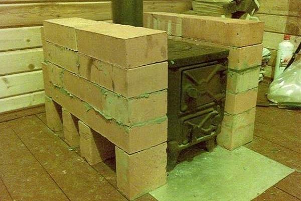 укрепление из камня
