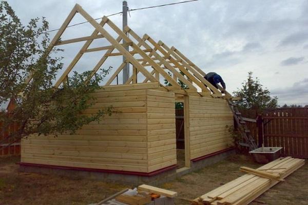 постройки из дерева