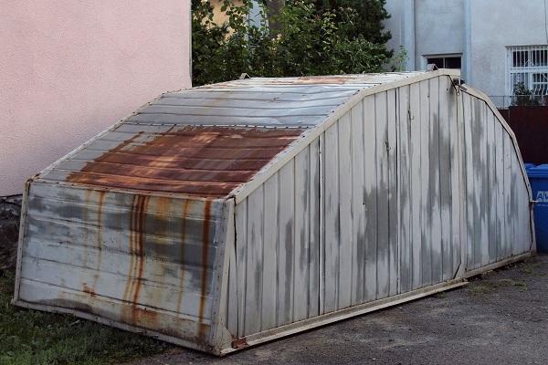 контейнер из метала