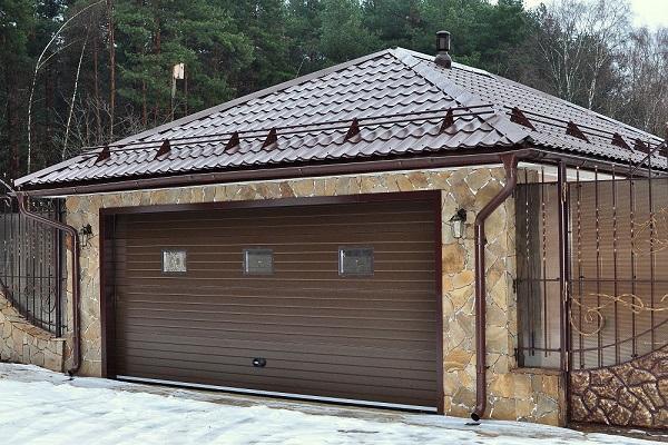 красивый гараж