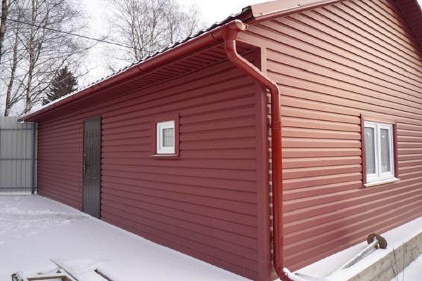 красный гараж