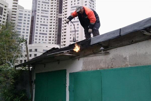 работа с горелкой