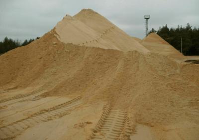 гора песка