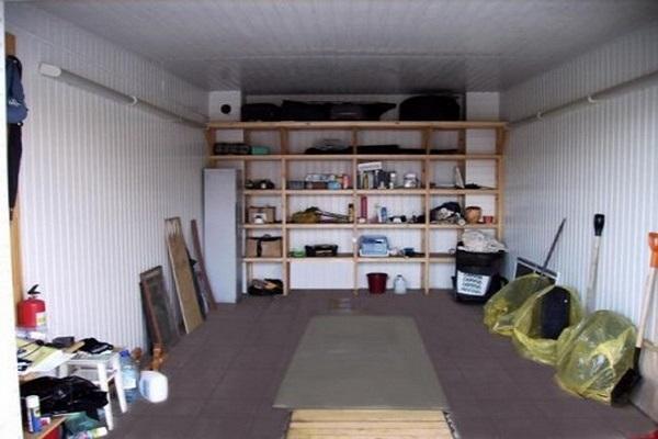гараж изнутри