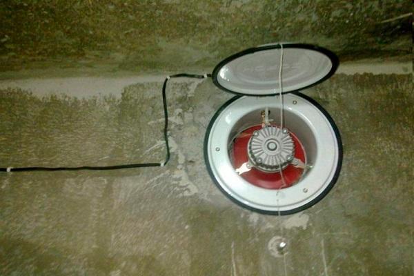 открытый вентилятор