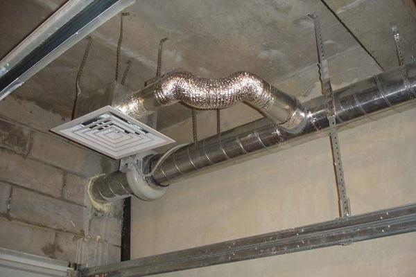 сетка в потолке