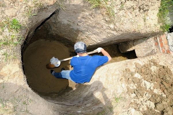 капаем яму