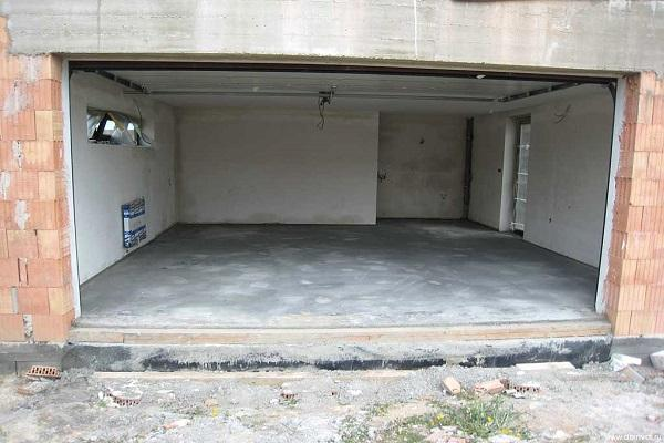 бетонное основание