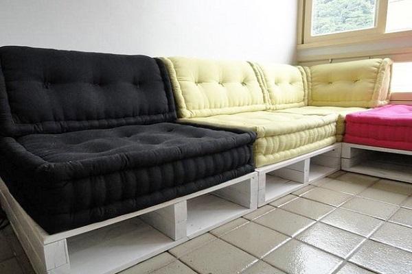 диван из материалов