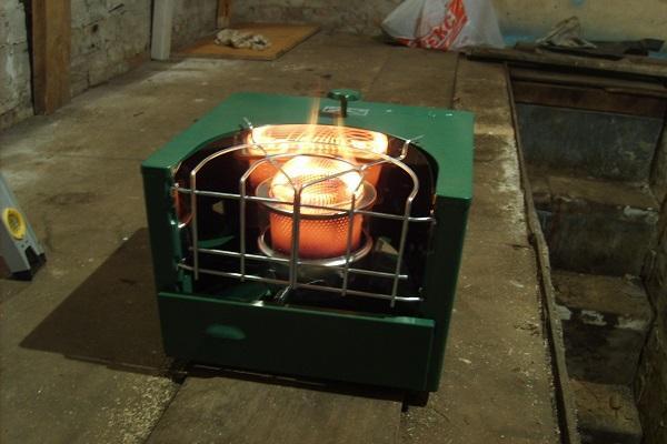горящий ящик