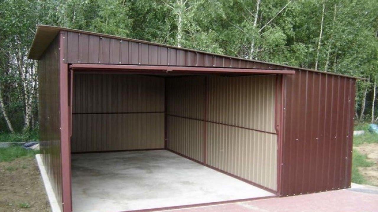 разборный гараж своими руками